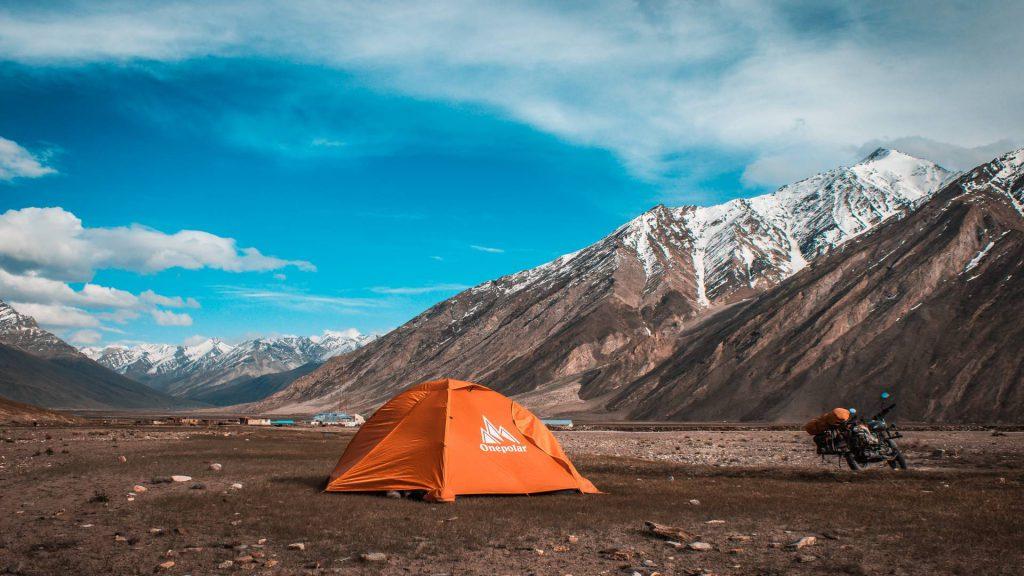 camping in rangdum in Zankar valley